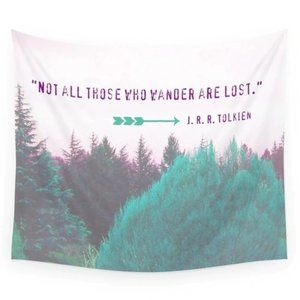 Other - Not All Those Who Wonder Are Lost Tapestry
